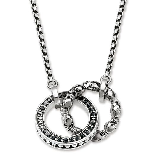 necklace skull pavé from the Rebel at heart collection in the THOMAS SABO online store