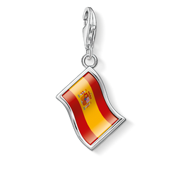 Charm pendant flag Spain from the Charm Club Collection collection in the THOMAS SABO online store