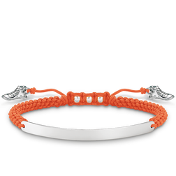 "bracciale ""sneaker arancione"" from the Love Bridge collection in the THOMAS SABO online store"