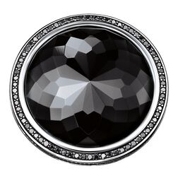 "cocktail ring ""black lotus"" from the Glam & Soul collection in the THOMAS SABO online store"