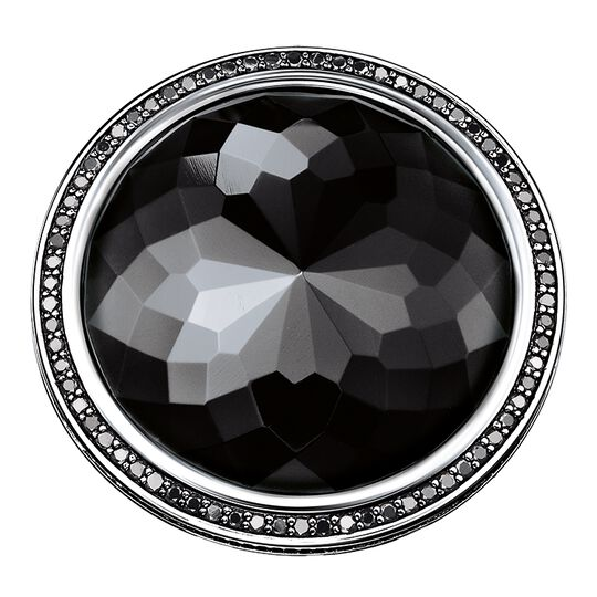 cocktail ring black Lotos from the Glam & Soul collection in the THOMAS SABO online store