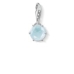 "ciondolo Charm ""pietra nascita marzo"" from the  collection in the THOMAS SABO online store"
