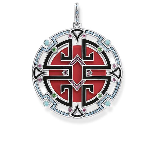 """pendant """"Asian ornaments"""" from the Glam & Soul collection in the THOMAS SABO online store"""