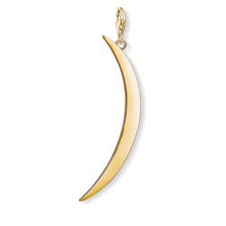 Charm pendant Moon gold from the Charm Club Collection collection in the THOMAS SABO online store