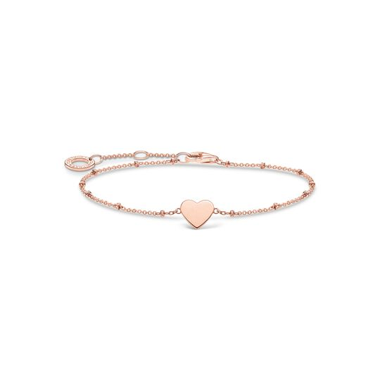 Bracelet heart with dots rose gold from the Charming Collection collection in the THOMAS SABO online store