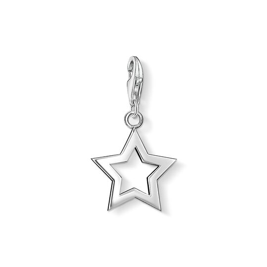 Charm pendant star from the Charm Club collection in the THOMAS SABO online store