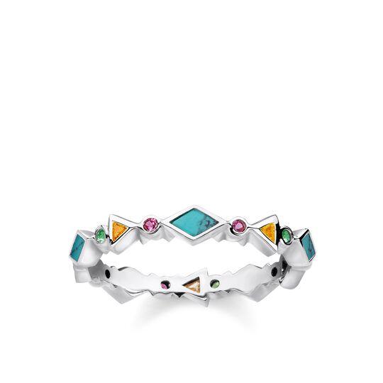 """Ring """"Farbige Steine"""" aus der Glam & Soul Kollektion im Online Shop von THOMAS SABO"""
