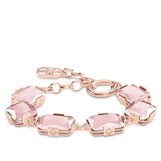 bracelet large pink stones from the Glam & Soul collection in the THOMAS SABO online store