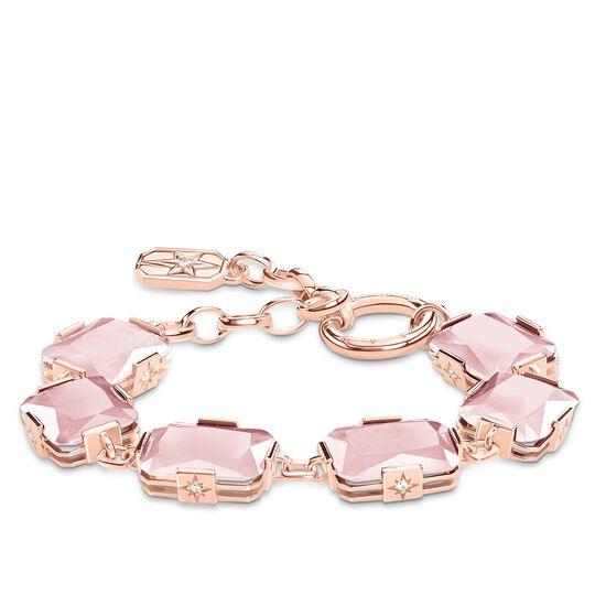 Armband Große rosa Steine aus der Glam & Soul Kollektion im Online Shop von THOMAS SABO