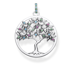 "pendant ""Tree of Love"" from the Glam & Soul collection in the THOMAS SABO online store"