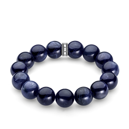 "bracelet ""Power Bracelet blue"" from the Rebel at heart collection in the THOMAS SABO online store"