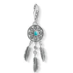Charm pendant ethno dreamcatcher from the Charm Club Collection collection in the THOMAS SABO online store