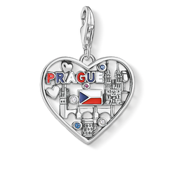 Charm-Anhänger We love Prague silber aus der Charm Club Collection Kollektion im Online Shop von THOMAS SABO