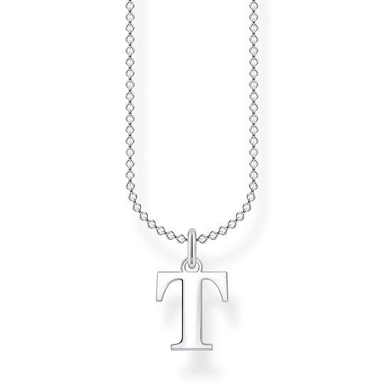 Necklace letter T from the Charming Collection collection in the THOMAS SABO online store
