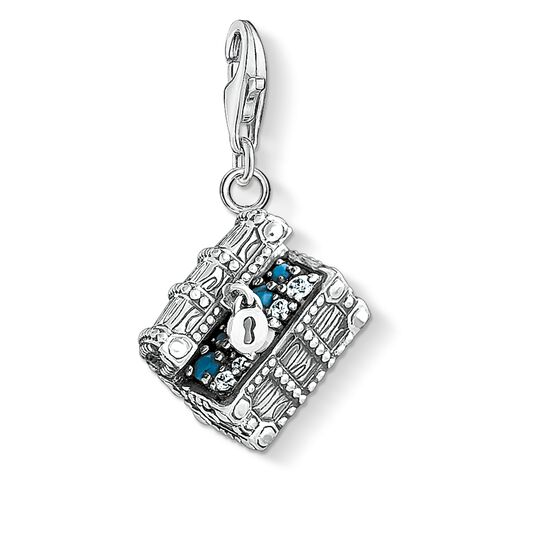 Charm pendant treasure chest from the Charm Club collection in the THOMAS SABO online store