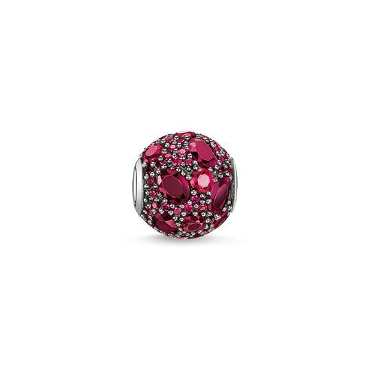 Bead feu rouge de la collection Karma Beads dans la boutique en ligne de THOMAS SABO