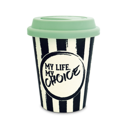 Cup my Life my Choice - black from the  collection in the THOMAS SABO online store