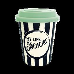 Tasse my Life my Choice - noir de la collection  dans la boutique en ligne de THOMAS SABO