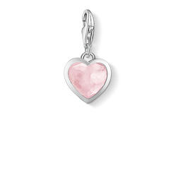 Charm pendant pink heart from the Charm Club Collection collection in the THOMAS SABO online store