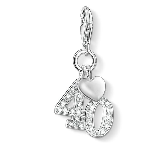 "Charm pendant ""40"" from the  collection in the THOMAS SABO online store"