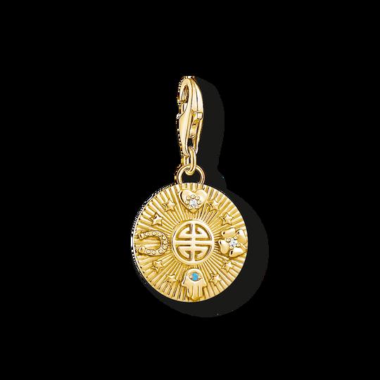 Charm-hängsmycke Lycko-coin ur kollektionen Charm Club i THOMAS SABO:s onlineshop