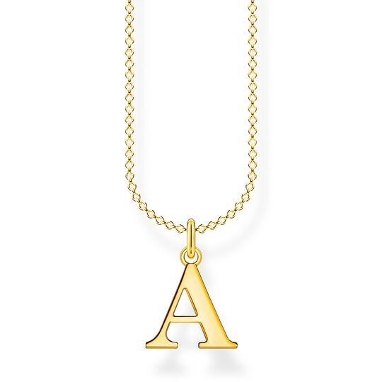 Chaîne lettre A or de la collection Charming Collection dans la boutique en ligne de THOMAS SABO
