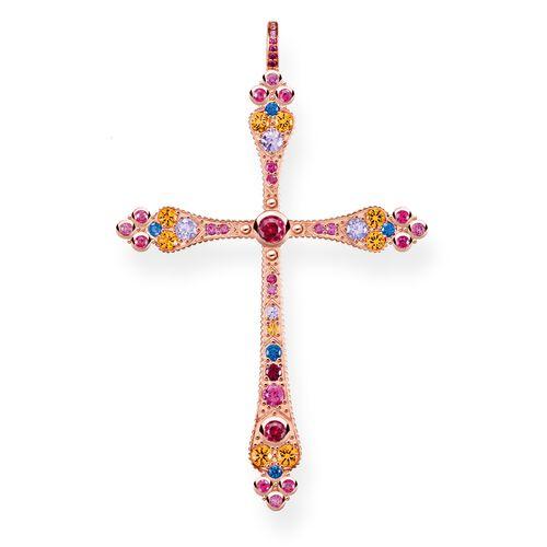 """Anhänger """"Royalty Kreuz"""" aus der Glam & Soul Kollektion im Online Shop von THOMAS SABO"""