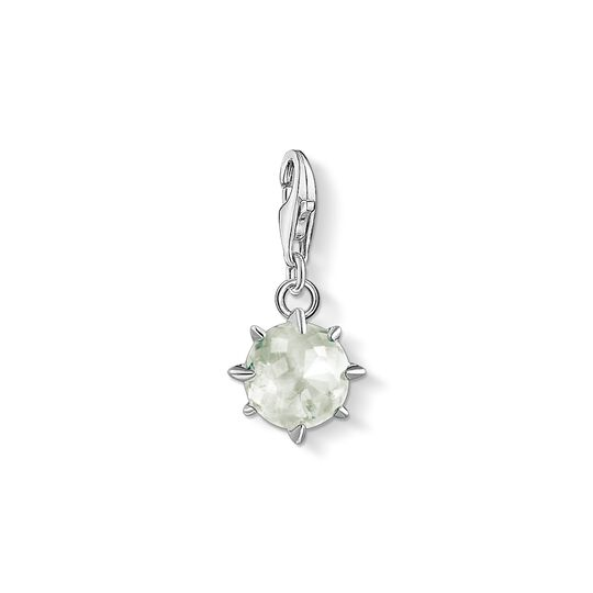 Charm pendant birth stone August from the Charm Club collection in the THOMAS SABO online store