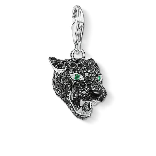 Charm pendant Black Cat from the  collection in the THOMAS SABO online store