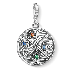 Charm pendant earth, water, air, fire from the Charm Club Collection collection in the THOMAS SABO online store