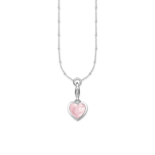 Charm necklace pink heart from the Charm Club collection in the THOMAS SABO online store