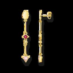 """pendientes """"piedras de colores"""" de la colección Glam & Soul en la tienda online de THOMAS SABO"""