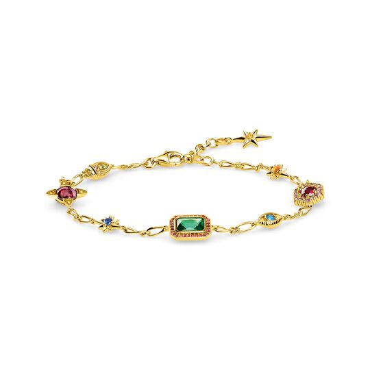 bracelet Lucky charms, gold from the  collection in the THOMAS SABO online store