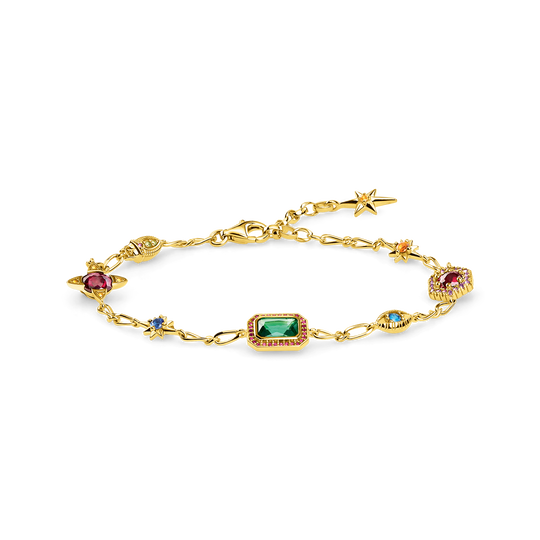 bracelet Lucky charms, gold from the Glam & Soul collection in the THOMAS SABO online store