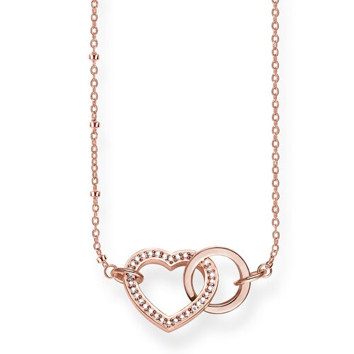 "necklace ""Together Forever heart"" from the Glam & Soul collection in the THOMAS SABO online store"