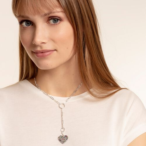 "Charm pendant ""love & peace"" from the  collection in the THOMAS SABO online store"