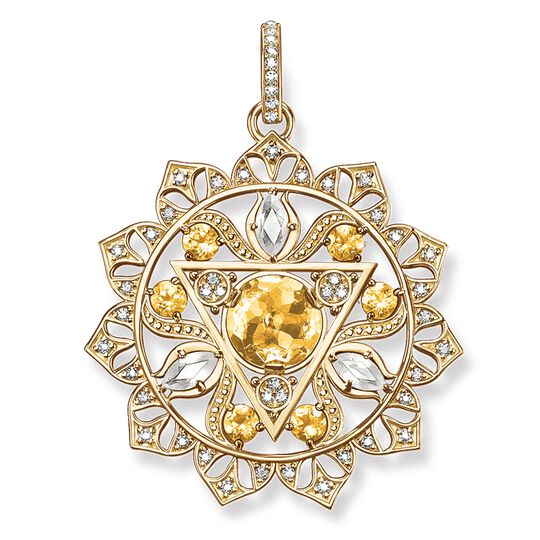 "pendant ""solar plexus chakra"" from the Chakras collection in the THOMAS SABO online store"