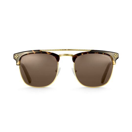 Sunglasses James trapeze cross havana from the  collection in the THOMAS SABO online store