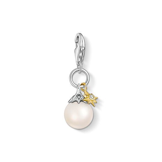 charm pendant pearl star from the Charm Club collection in the THOMAS SABO online store