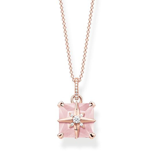 necklace pink stone with star from the  collection in the THOMAS SABO online store