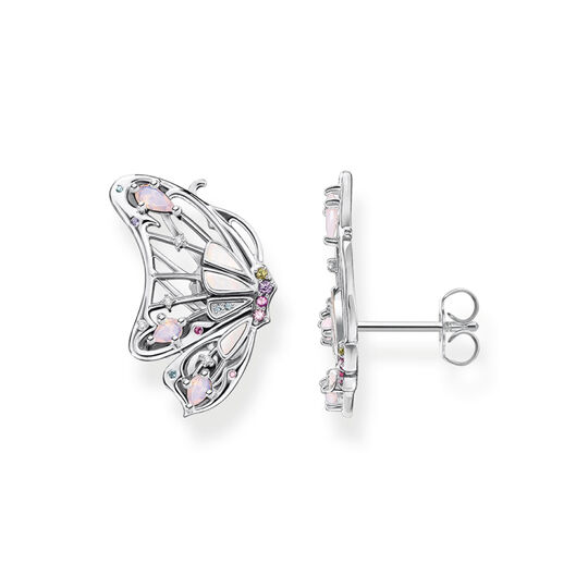 Earrings butterfly silver from the  collection in the THOMAS SABO online store