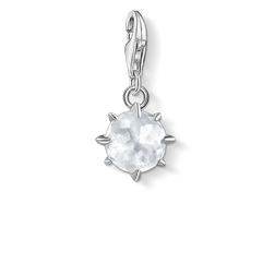 Charm pendant birth stone April from the Glam & Soul collection in the THOMAS SABO online store