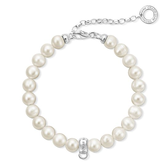 Charm bracelet pearls from the  collection in the THOMAS SABO online store