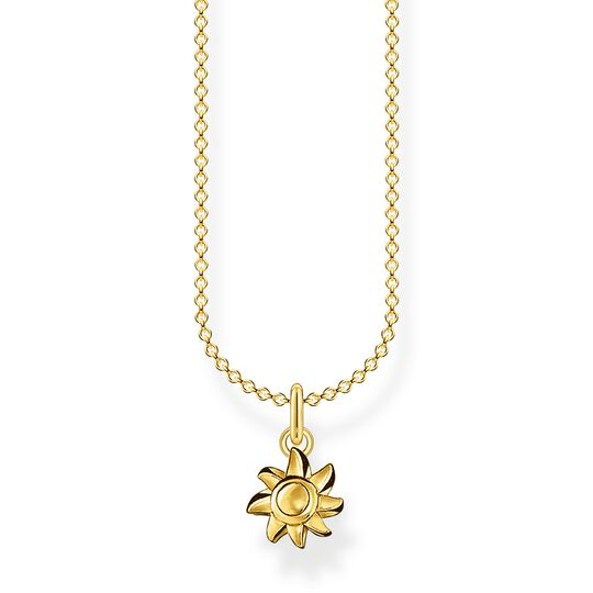 Necklace sun gold from the Charming Collection collection in the THOMAS SABO online store