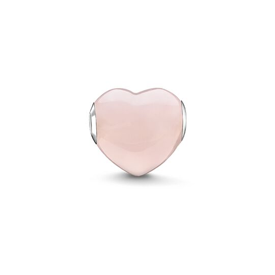 Bead cœur rose de la collection Karma Beads dans la boutique en ligne de THOMAS SABO