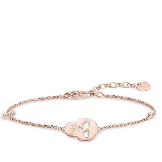 "bracelet ""skull with heart"" from the Glam & Soul collection in the THOMAS SABO online store"