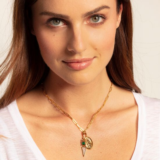 "Charm pendant ""Ethnic gold"" from the  collection in the THOMAS SABO online store"
