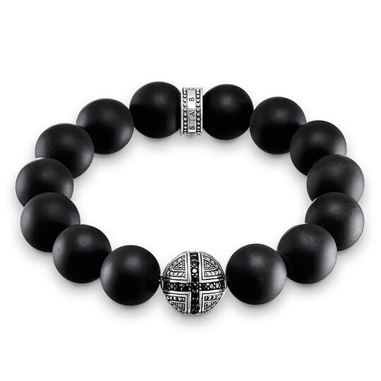 "bracelet ""Power Bracelet cross"" from the Rebel at heart collection in the THOMAS SABO online store"