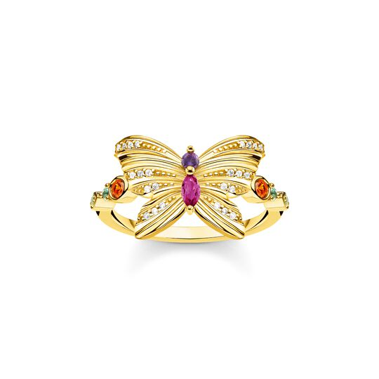 ring butterfly gold from the  collection in the THOMAS SABO online store