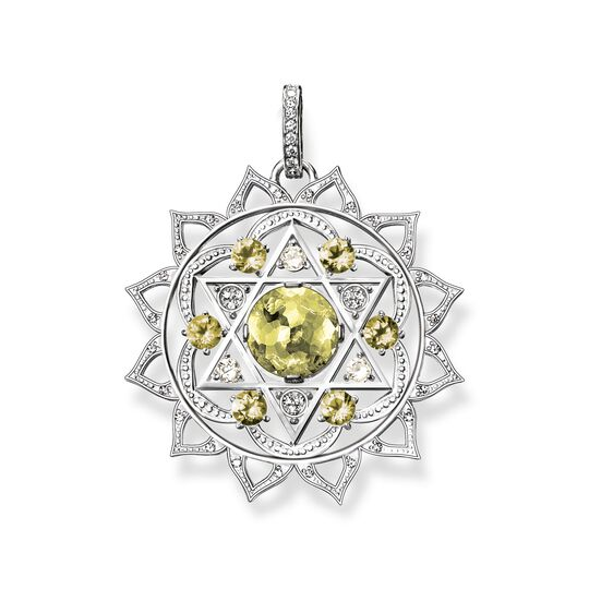 pendant heart chakra from the  collection in the THOMAS SABO online store